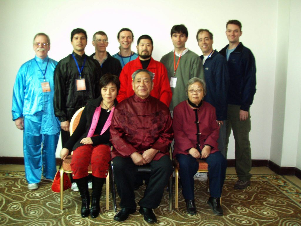 Sifu James with GM Feng and Master Chen, Beijing - 2007
